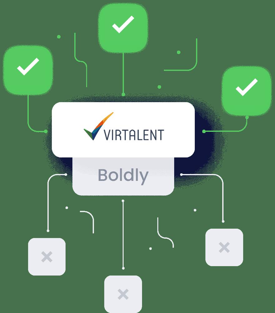 Boldly versus Virtalent